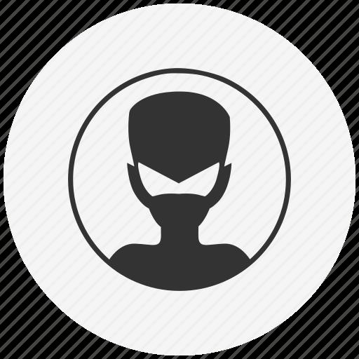 avatar, boy, comics, face, head, hell, mask icon