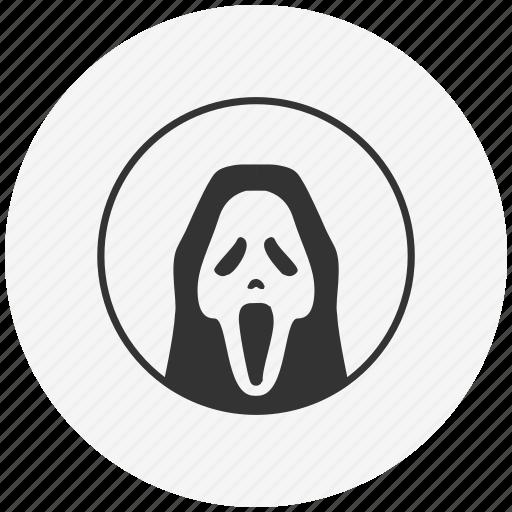 avatar, cinema, face, head, mask, scary icon