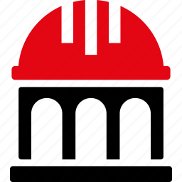 architecture, building, home, house, real estate, residential, roof icon