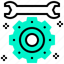fix, mechanic, repair, tools, wrench icon