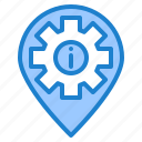 help, info, location, service, support icon