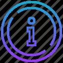 data, detail, info, resource, service icon