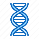 blood, dna, science, test icon