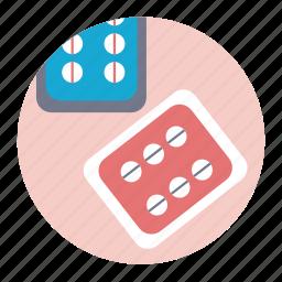 healthcare, medicine, pills, tablet icon