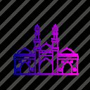 ahmedabad, architecture, heritage, india, jhultaminar, shaking minarets, sidi bashir mosque icon
