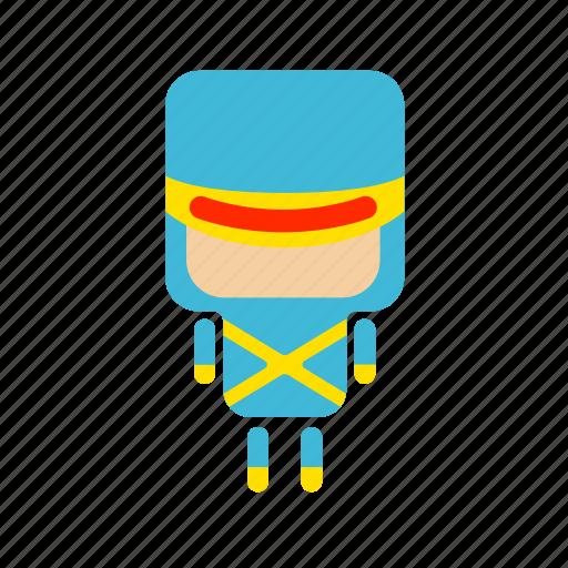 .svg, cute, hero, laser, mini icon