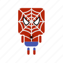 .svg, cute, hero, mini, spider icon