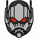 ant man, avengers, helmet, marvel icon