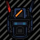 droid, robot, fiction, chappie icon