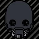 droid, star wars, k2s0, c3p0 icon