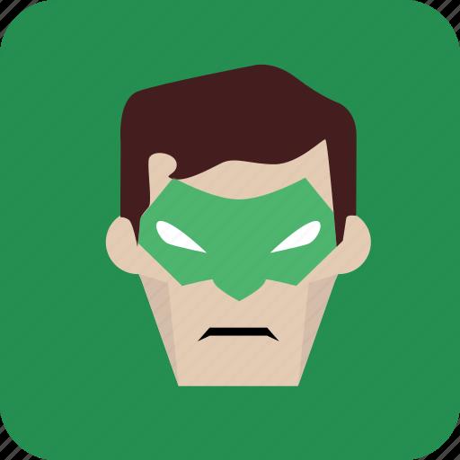 avatar, green, hero, heroic, man icon