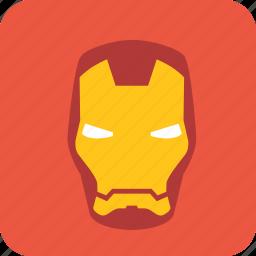 avatar, hero, heroic, man, metal, metal man icon