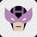 avatar, hero, heroic, man, mask, masked man icon