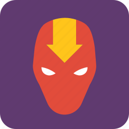 avatar, hero, man, mask, masked man, villain icon