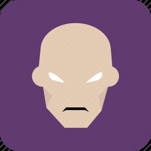avatar, bald, bald man, hero, man, user icon