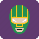 avatar, hero, man, masked man, user icon