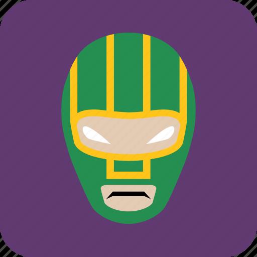 avatar, hero, man, masked man, user icon