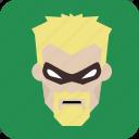 hero, mask, avatar, man, masked man, user