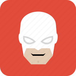 avatar, hero, man, mask, masked man, user icon
