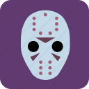 avatar, hockey, hockey mask, man, masked man, user icon