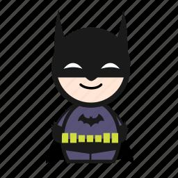 batman, cartoon, hero, super, superhero icon
