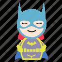 batman, cartoon, hero, super, superhero