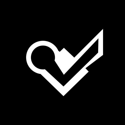 foursquare, hexagon, media, social icon