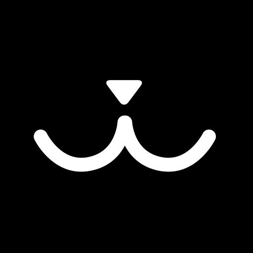 hexagon, media, miu, social icon