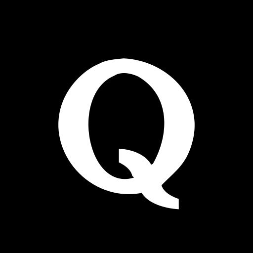 hexagon, media, quora, social icon