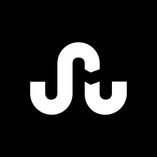 hexagon, media, social, stumbleupon icon