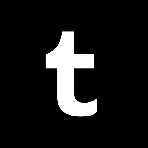 hexagon, media, social, tumblr icon