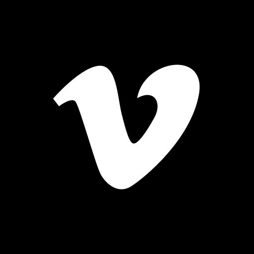 hexagon, media, social, vimeo icon