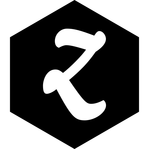 hexagon, media, social, zootool icon