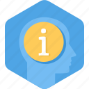about, answer, help, info, information, personal icon