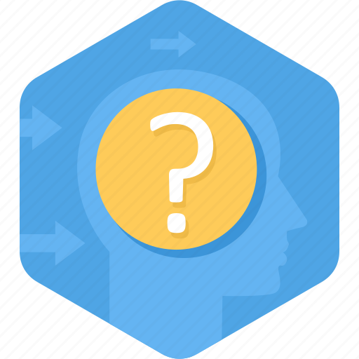 about, ask, help, query, question, support icon