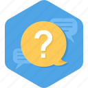 answer, ask, chat, consultant, conversation, question icon