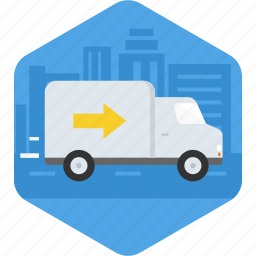 delivery, express, fast, guick, transportation, truck icon