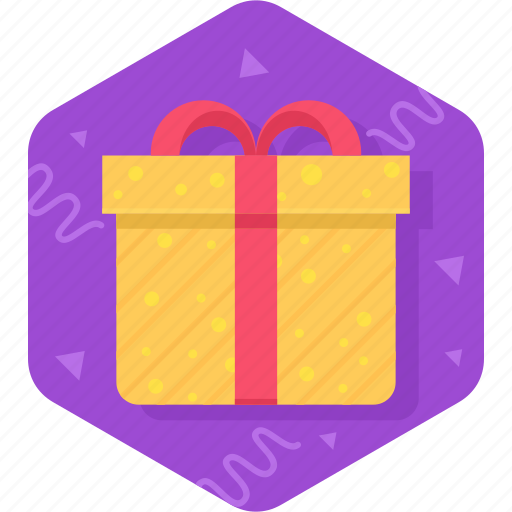birthday, box, free, gift, package, product icon