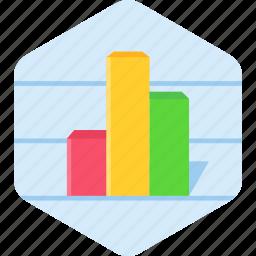 analytics, chart, finance, graph icon