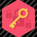 key, lock, protection, security, unlock