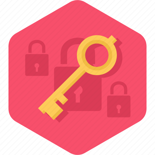 key, lock, protection, security, unlock icon