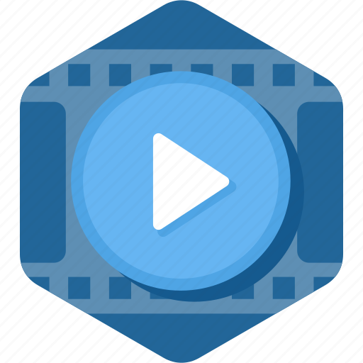 clip, film, movie, play, video, watch icon