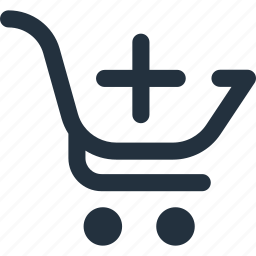 add, cart, create, new, plus, shop, shopping icon