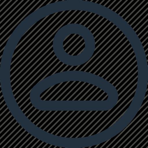 account, avatar, image, male, person, profile, user icon