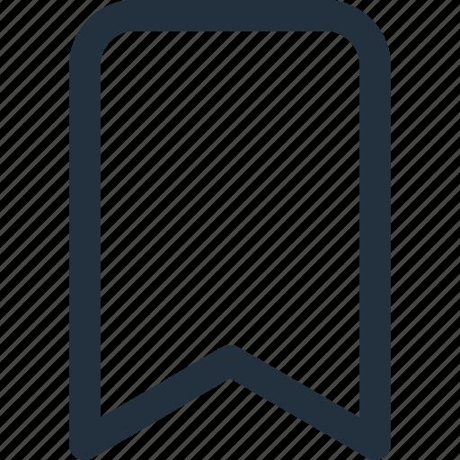 book, bookmark, favorite, mark, note, tag icon