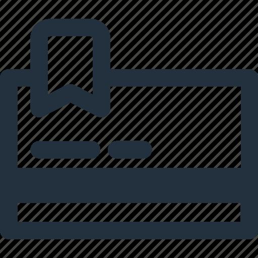 card, credit, membership, pay, shop icon