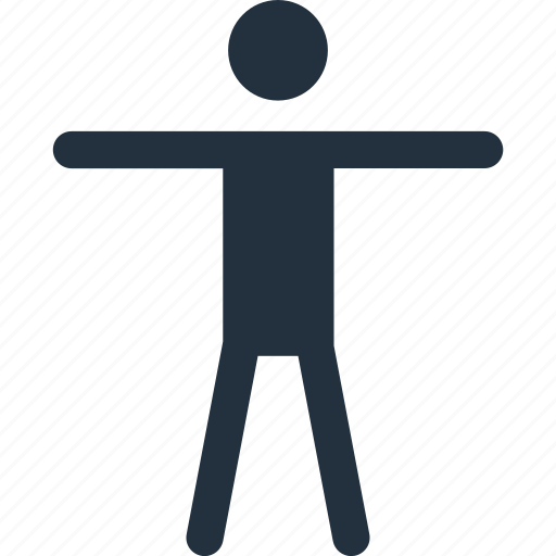 accessibility, acessible, human, man, men, people icon