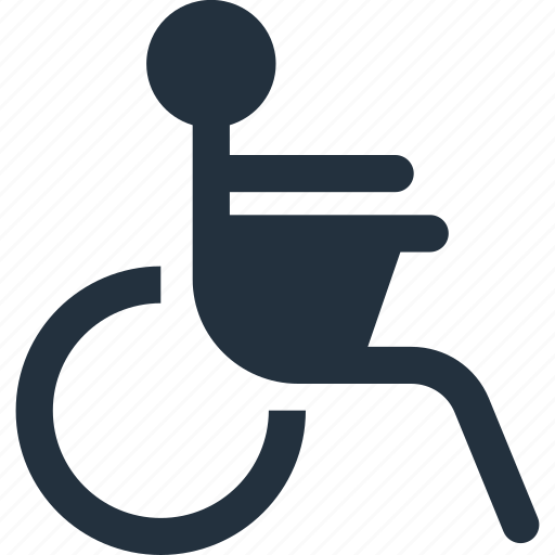 accessible, chair, disabled, handicap, handicapped, ramp, wheel icon