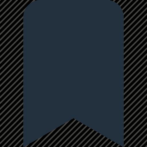 book, bookmark, favorite, mark, ribbon icon