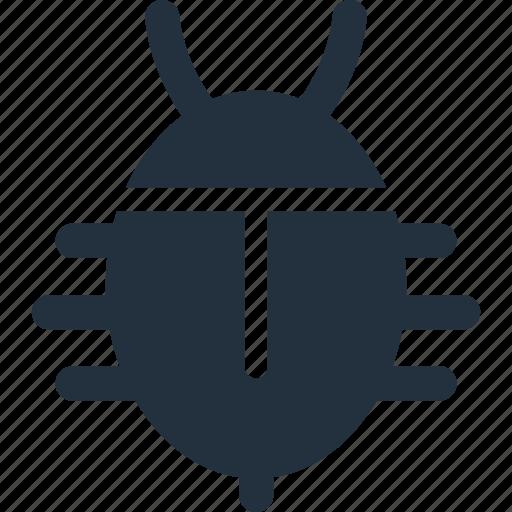 aspect, bug, report, spider, virus icon